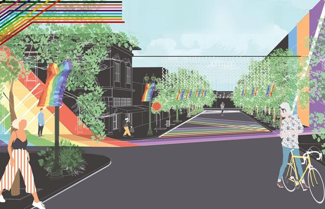 Ahead of Silicon Valley Pride, South Bay leaders will detail how Post Street in San Jose will become an LGBTQ inclusive district. Photo: Courtesy Project More
