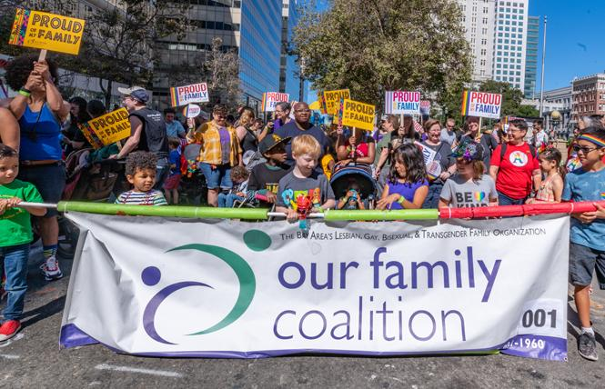 Our Family Coalition marched in last year's Oakland Pride parade. Photo: Jane Philomen Cleland