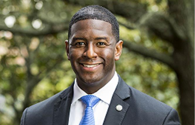 Andrew Gillum has come out as bisexual. Photo: Public domain
