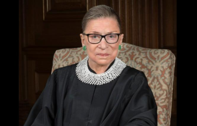 Associate Justice Ruth Bader Ginsburg. Photo: Courtesy Wikipedia