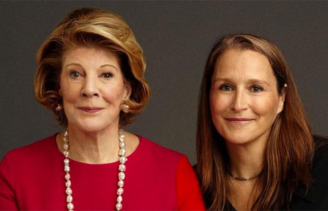 Agnes Gund and Catherine Gund. photo: Timothy Greenfield-Sanders.