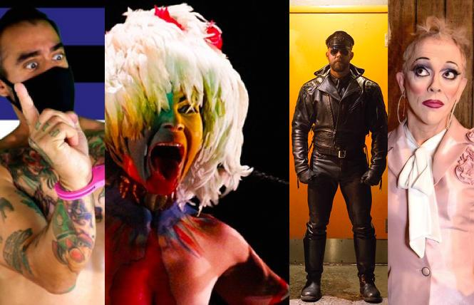Baloney Folsom, Festival of Latin American Contemporary Choreographers , Mark I Chester photos, Peggy L'Eggs Memorial  show (photo: Gooch)