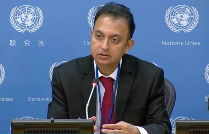 Javaid Rehman, a special rapporteur on the situation of human rights in Iran. Photo: Courtesy of Iran Human Rights Monitor