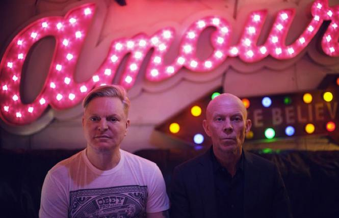 Andy Bell and Vince Clarke of Erasure photo: Phil Sharpe