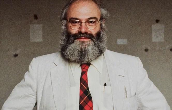 Gay neurologist and best-selling author Oliver Sacks