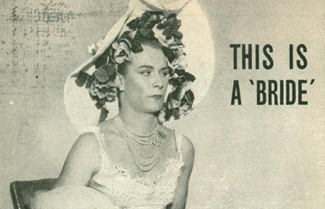 People Today ran a cover of Tommy Gene Brown dressed as a bride during a party in Waco, Texas in 1953 that was raided by authorities.
