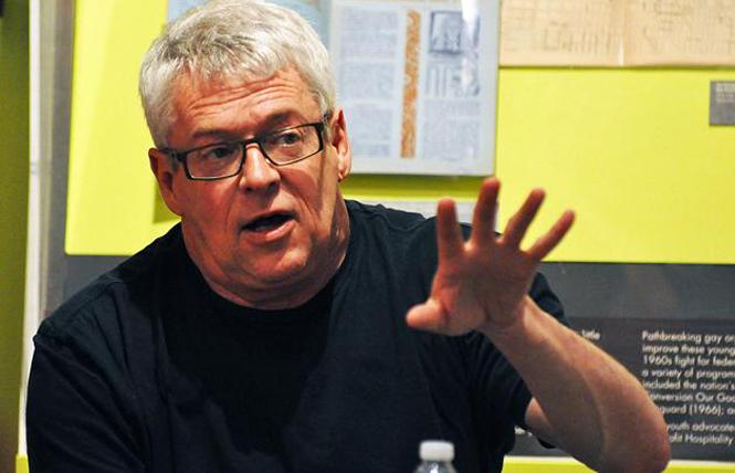 Cleve Jones. Photo: Rick Gerharter