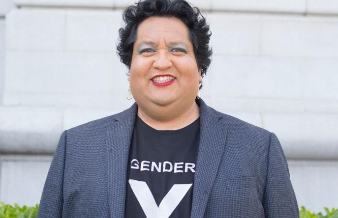 Tina Valentin Aguirre. Photo: Fabian Echevarria