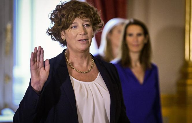 Petra De Sutter was sworn in as Belgium's new deputy prime minister October 1. Photo Petra De Sutter via Twitter