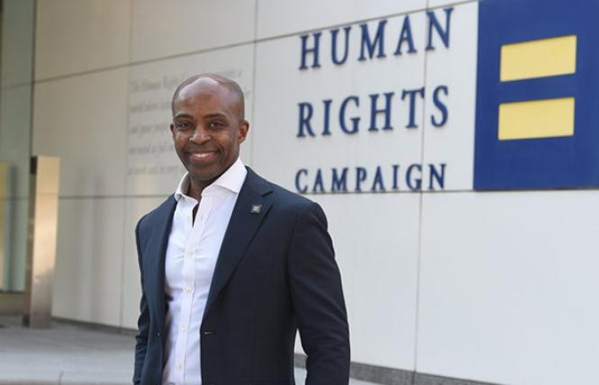 Human Rights Campaign President Alphonso David. Photo: Courtesy HRC