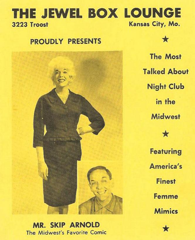 Skip Arnold at the Jewel Box Lounge, Courtesy Queer Music Heritage