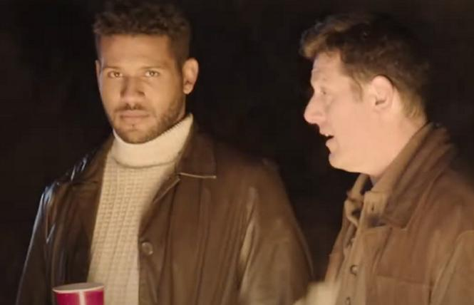 Jeffrey Bowyer-Chapman and Ari Cohen in 'Spiral'