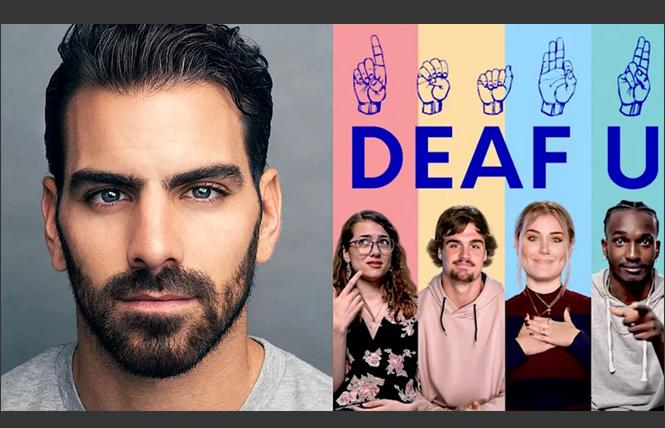 Nyle DiMarco, executive producer for Netflix's 'Deaf U' photo: William Callan/Nettflix