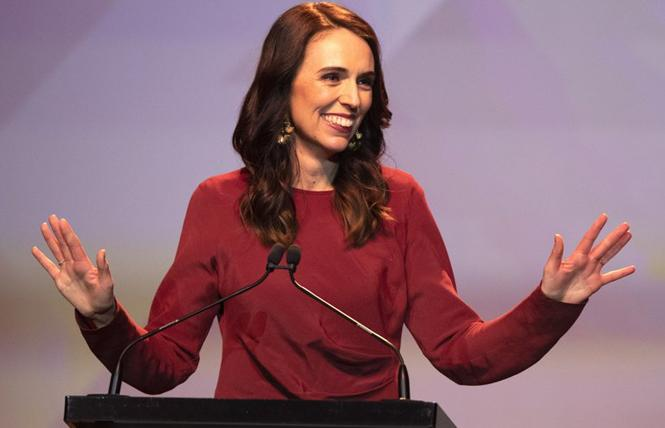 New Zealand's prime minister Jacinda Ardern won a landslide reelection that ushered in the country's most diverse parliament ever. Photo: Courtesy Associated Press