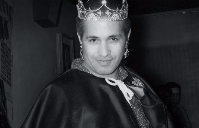 José Julio Sarria, self-declared Empress I, founded the San Francisco Imperial Court in 1965. Photo: Courtesy Frameline Distribution