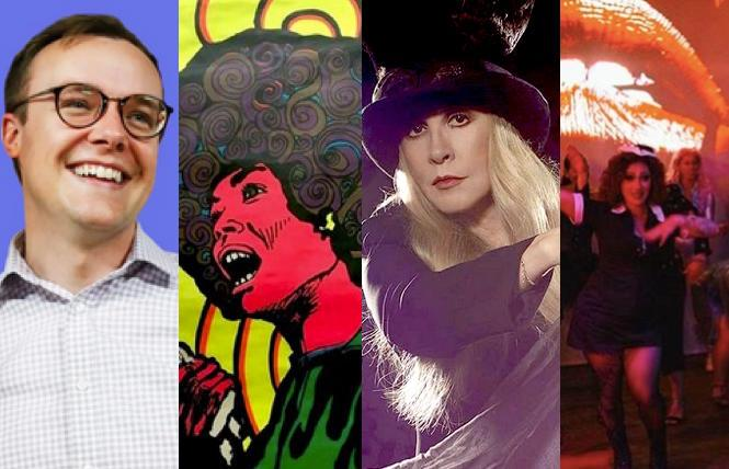 Chasten Buttigieg, 'Angela Davis' at the GLBT History Museum, Stevie Nicks, 'Rocky Horror' Drag Bingo