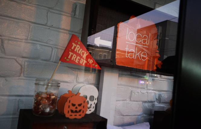 Local Take is one of the Castro district stores participating in a kids' touchlesss trick-or-treat event on Halloween. Photo: Rick Gerharter