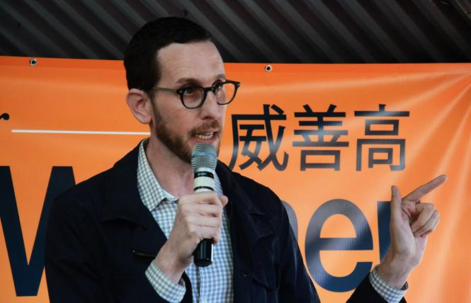 State Senator Scott Wiener won reelection. Photo: Rick Gerharter