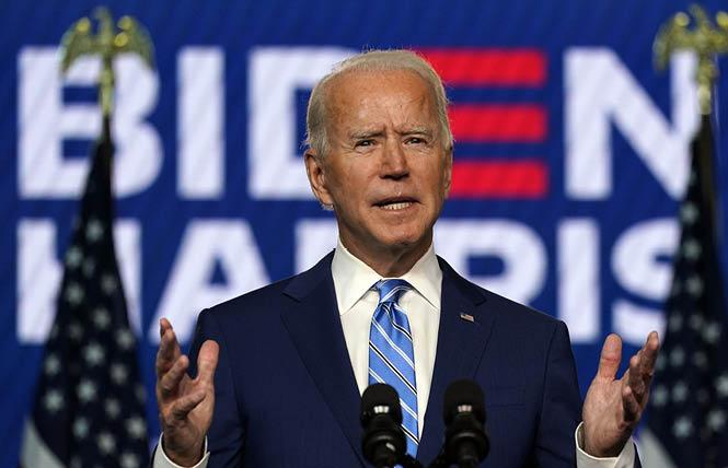 Democrat Joe Biden has been declared the winner of the presidential race. Photo: Courtesy AP