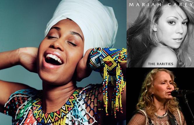 Jazzmeia Horn, Mariah Carey, Joan Osborne