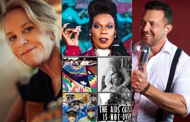 (L-R) Mary Chapin Carpenter, Big Freedia, World AIDS Day, Justin Utley