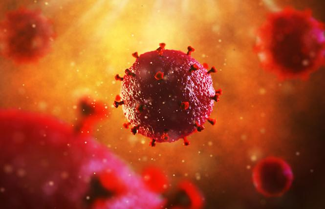 The human immunodeficiency virus. Photo: Courtesy CDC