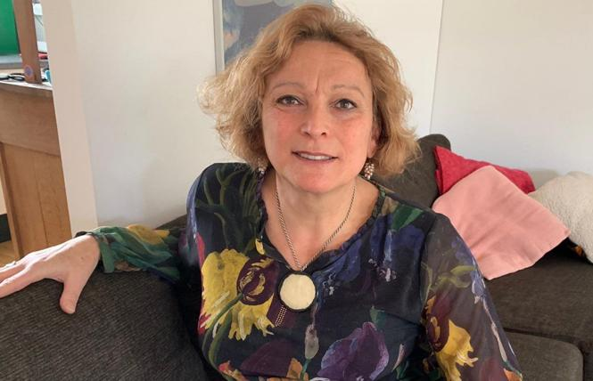 Dutch transgender activist Willemijn van Kempen won an apology and reparations from The Netherlands for herself and an estimated 2,000 transgender Dutch people after an agreement was reached November 30. Photo: Courtesy RTL Nieuws