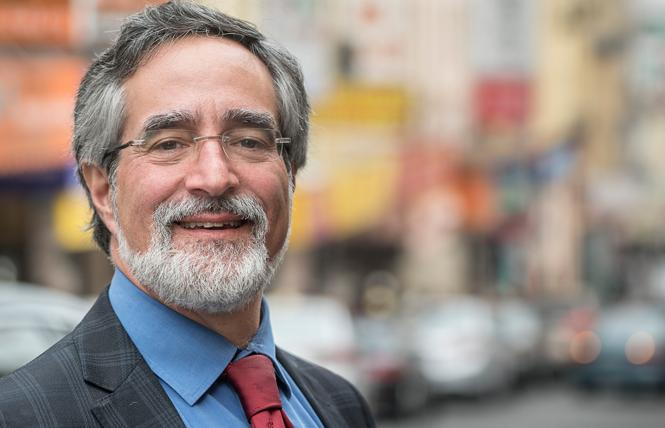 Supervisor Aaron Peskin changed his mind and sent the apartment smoking ban back to committee on a 6-5 vote. Photo: Courtesy Aaron Peskin