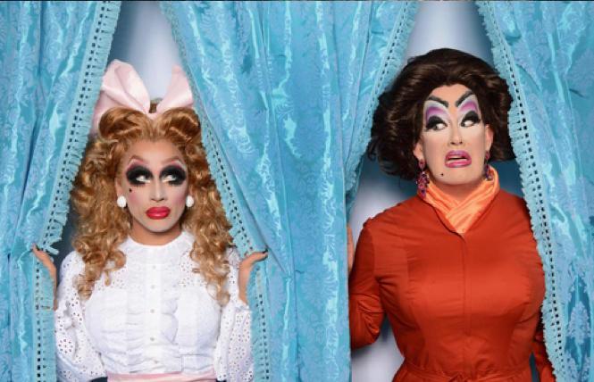 Bianca Del Rio and Peaches Christ