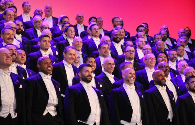 San Francisco Gay Men's Chorus' 2019 holiday concert at the Castro Theatre