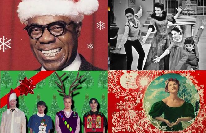 Holiday music playlists