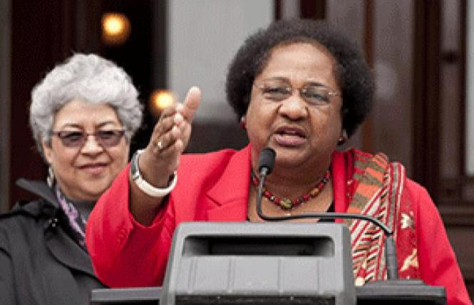 Assemblywoman Shirley Weber has been named secretary of state by Governor Gavin Newsom to replace Alex Padilla, whom Newsom appointed to fill the U.S. Senate seat of Kamala Harris. Weber is expected to be confirmed by the Legislature to the new post.
