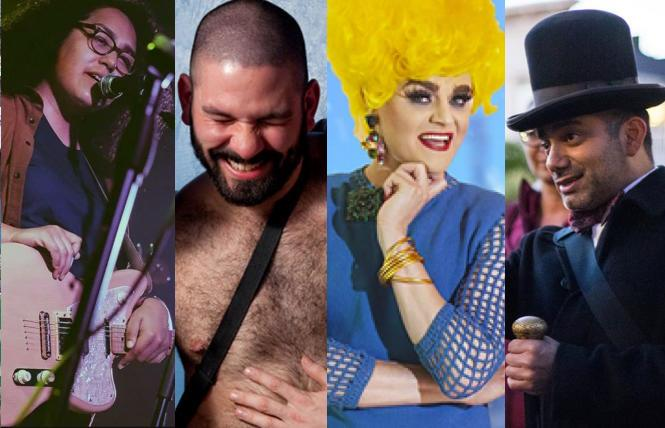 Azuah (NCTC's Mighty Queer' show; Bearracuda NYE; Tammie Brown; Christian Cagigal's San Francisco Ghost Hunt