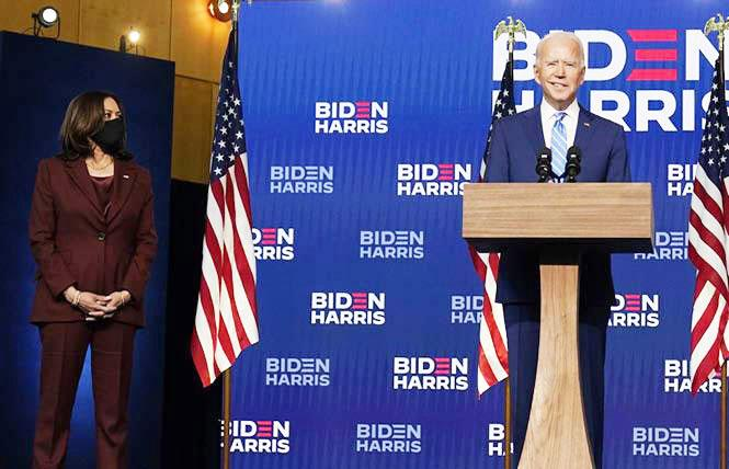 Vice President-elect Kamala Harris and President-elect Joe Biden and have a lot to do once they take office January 20. Photo: AP