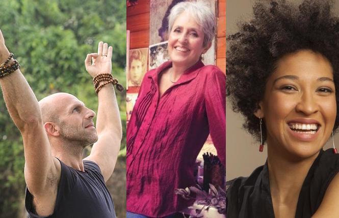 Les Leventhal Yoga, Joan Baez, Julia Bullock