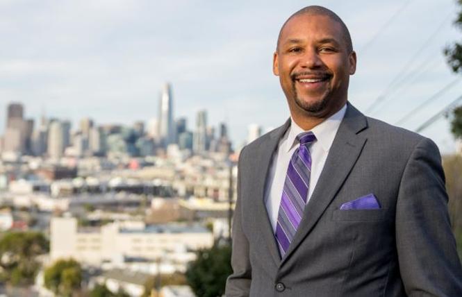 New San Francisco Board of Supervisors President Shamann Walton. Photo: Courtesy Shamann Walton
