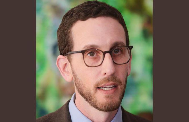 State Senator Scott Wiener is reintroducing his intersex infant surgery bill. Photo: Rick Gerharter