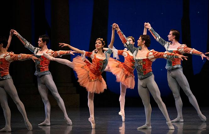 'A Midsummer Night's Dream' by George Balanchine, part of Program 1 of San Francisco Ballet's 2021 online season. photo: Erik Tomasson © San Francisco Ballet