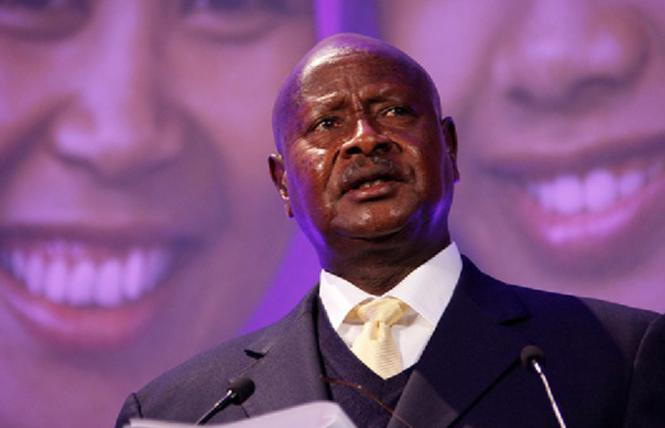 Uganda's president Yoweri Museveni won a sixth consecutive term January 16, 2021. Photo: Courtesy Creative Commons by Russell Watkins/Department for International Development U.K.