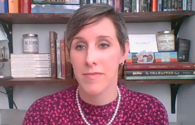 HRC state legislative director Cathryn Oakley. Photo: Screengrab