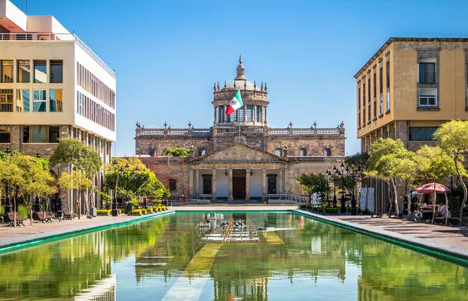 Guadalajara, Mexico, the Cabanas Cultural Institute is shown here, has been selected as a finalist for the 2026 Gay Games. Photo: Courtesy Weather Atlas