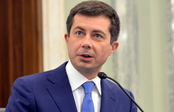 Pete Buttigieg was confirmed with bipartisan support as transportation secretary. Blade file photo by Michael Key
