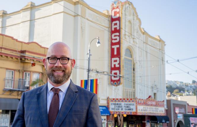 San Francisco Supervisor Rafael Mandelman represents District 8, which includes the Castro, Mission Dolores, and Noe Valley. Photo: Courtesy Supervisor Rafael Mandelman