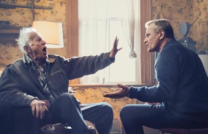 Lance Hendriksen and Viggo Mortensen in 'Falling'