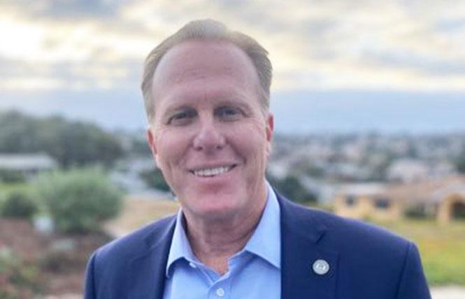 Former San Diego mayor Kevin Faulconer. Photo: Courtesy Twitter