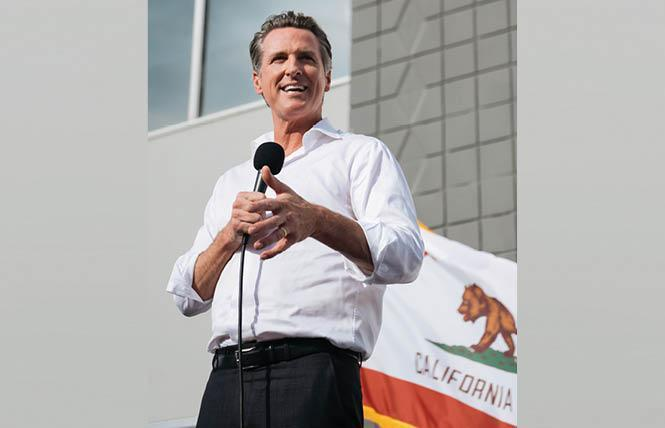 A recall of Governor Gavin Newsom may qualify; the deadline is next month. Photo: Courtesy Governor's office