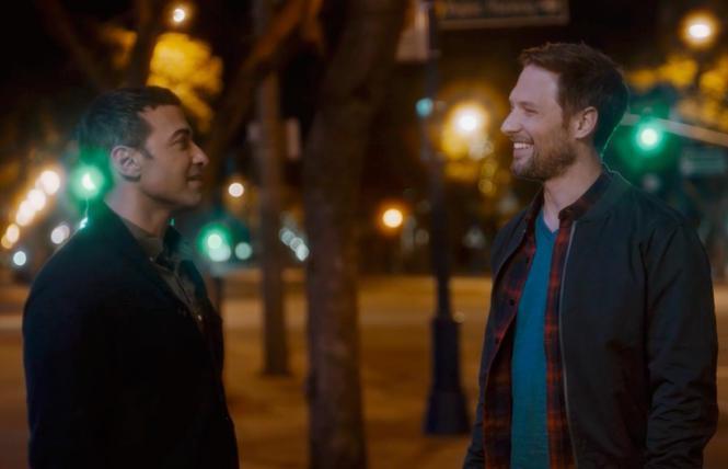 Haaz Sleiman and Michael Cassidy in 'Breaking Fast'