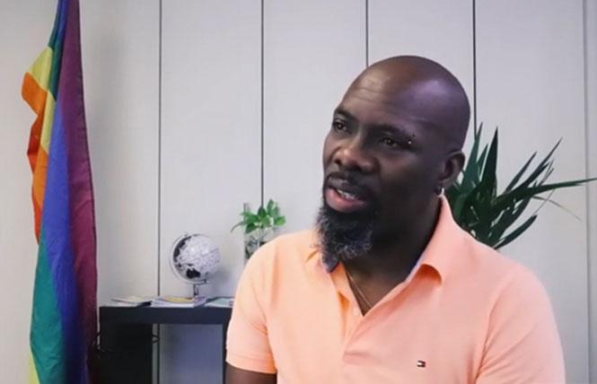 Gay Jamaican activist Gareth Henry. Photo: Courtesy Human Dignity Trust