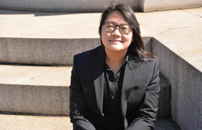 Taissa Morimoto of the National LGBTQ Task Force. Photo: Michael Key/Washington Blade