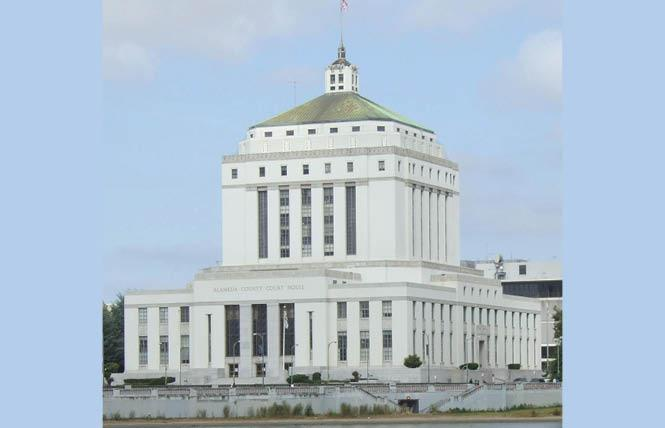 Alameda County, the Rene C. Davidson Courthouse in Oakland is shown here, has the highest number of out LGBTQ judges in Northern California. Photo: Courtesy Structurae.net